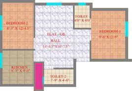 dream house floor plans 757 sq ft 2 bhk floor plan image cc builders dream house