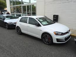 white volkswagen gti 2017 usa mk7 gti sport hit the lot golfgti