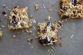Oatmeal Toppings Bar Soft Baked Oatmeal Chocolate Chip Bars Love U0026 Zest