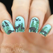 copycat claws 40 great nail art ideas animals