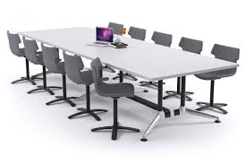 Rectangular Boardroom Table Boardroom Table Premium Rectangle Table Indented Chrome Legs Blackjack