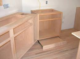 how to install lower kitchen cabinets pre dill and secure the two