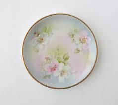 1925 vintage ct altwasser plate carl tielsch plate flower plate