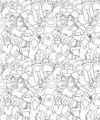 adventure time coloring book page by natalie parker on deviantart