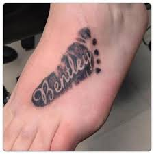 baby footprint ideas 30 baby footprint tattoos hative