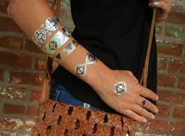 tribal jewelry tribal bracelet metallic tattoos tribal