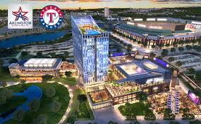 rangers arlington hotel deal can hush the dallas talk fort worth