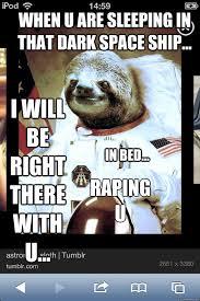 Sloth Meme Rape - rape sloth meme uranus