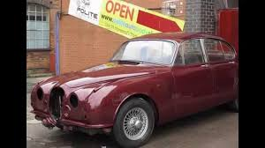 jaguar mk2 body repair and full respray youtube