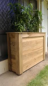 Outdoor Room Dividers Learn How To Make This Planter Box Out Of Pallets Great As An