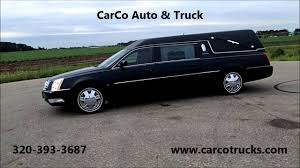 hearse for sale 2006 cadillac s s hearse for sale by carco trucks