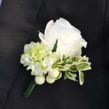 white corsages for prom aliexpress buy 1 set 2pcs artificial silk white flower prom
