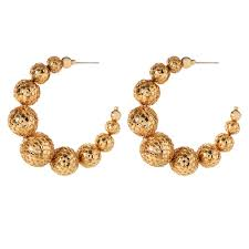 earring hoops j lo hoops shop amrita singh jewelry