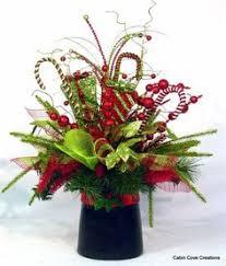christmas table flower arrangement ideas whimsical green present arrangement christmas flower arrangements