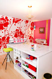 Pink Craft Room - 23 craft room design ideas creative rooms