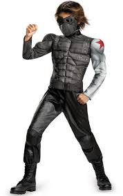 Wolf Halloween Costume Kids Boy U0027s Winter Soldier Muscle Costume Kids Costumes
