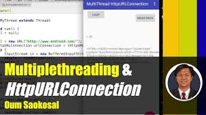 android httpurlconnection how to use threading httpurlconnection android