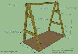 a frame plans free yard swing frame plans free plans diy free free puzzle box