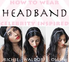headband waves how to wear headband inspired looking like a grownup