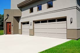 garage glass doors recessed panel chi overhead doors