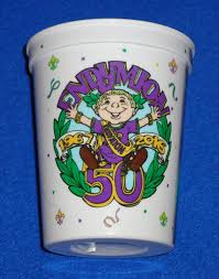 mardi gras cups special krewe of endymion 50th anniversary 2016 mardi gras cup