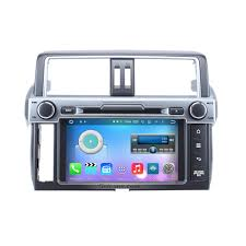 8 inch android 6 0 2014 toyota prado radio replacement with