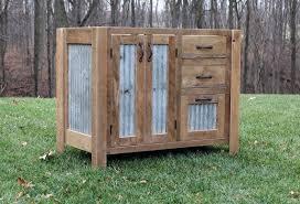 Rustic Vanity Mirrors For Bathroom by Vanities Reclaimed Wood Vanity Top Barn Wood Vanity Rustic