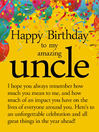 to an unforgettable year happy birthday wishes card for