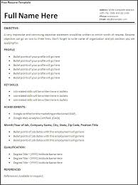 Resume Word Template Free Free Resume Templates For Word 2016 Stagepfe Sle Computer Word