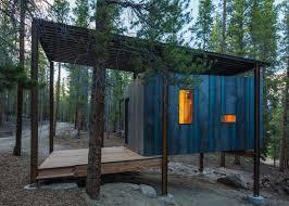 rustic cabins for colorado u0027s outward bound students inhabitat