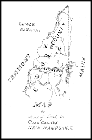 Nh Map Maps Of Pittsburg
