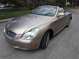 lexus cars 2005 2005 lexus sc430 for sale classiccars com cc 1026670