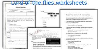 english teaching worksheets lord of the flies