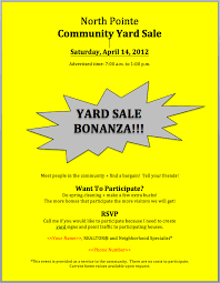 community garage sale flyer template a low cost way to boost your