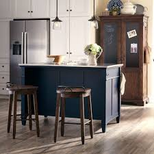 kitchen island set trisha yearwood home kitchen island set troyal blue klaussner