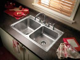 double sinks kitchen single or double kitchen sink fair kitchen sink double home design