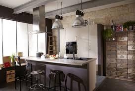 cuisine style loft industriel cuisine style industriel loft maison design bahbe com