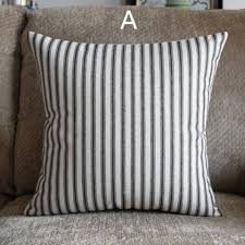 Decorative Pillows Modern Nordic Style Striped Throw Pillows For Couch Modern Minimalist
