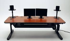 motorized sit stand desk ergo music height adjustable music production desk martin ziegler