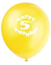balloons for birthdays delivered happy 2nd birthday printed balloons only 3 30 for a pack of 10