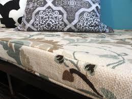 diy bench cushion removable mud room pinterest diy bench