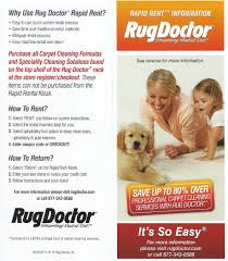 Rug Doctor Coupon 10 Scans Of Vacuum Brochures Argos Catalogues Leaflets Etc