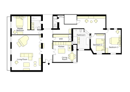 The Golden Girls Floor Plan by Luxury 3 Bedroom Apartment With Eiffel View Balcony U0026 Wifi