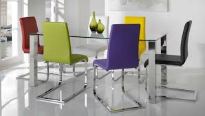 Different Color Dining Room Chairs Mix Match How To Pull Mismatched Dining Chairs