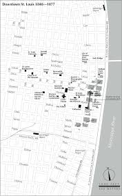 Map Of St Louis Maps Of The Cultural Civil War In St Louis The Cultural Civil War