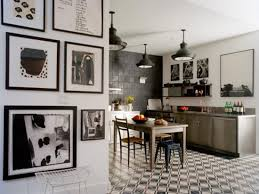 black and white kitchen decor home design
