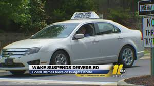with driver u0027s ed halted dot urges caution on the road abc11 com
