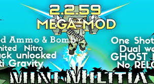 apk min mini militia hack pro pack unlocked all item purchased