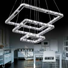 Square Chandelier Square Modern Chandelier For Living Room Dining Room Buy
