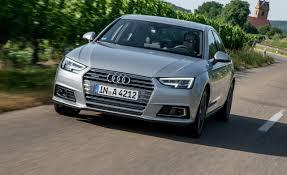 audi price range 2017 audi a4 prototype drive u2013 review u2013 car and driver
